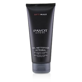 Payot Effektvollste Homme Gesicht & Körper energetische Reinigung Pflege 200ml/6,7 oz