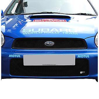 Subaru Impreza Bug Eye - Top and Lower Grille Set (2001 à 2003)