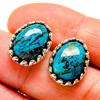 الأقراط شاتوكيت 3/4 & نقلا عن ( 925 الفضة الاسترليني) -- اليدوية المصنوعة بوهو خمر مجوهرات EARR407813