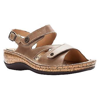 Propét Womens Jocelyn Leather Open Toe Casual Sport Sandals