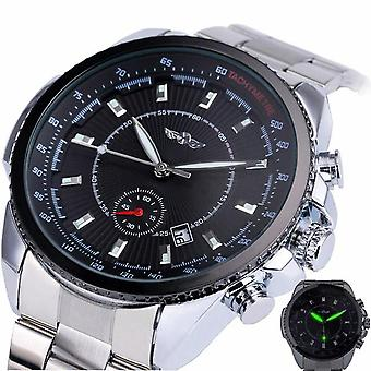 227 Business Style Men Wrist Watch Calendar Sub-dial Automatic Mechanical Watch