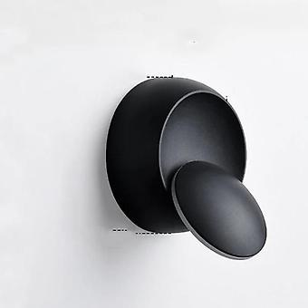 Lampa LED z okrągłą ścianą na przejściu z obrotem 360 stopni i regulowaną