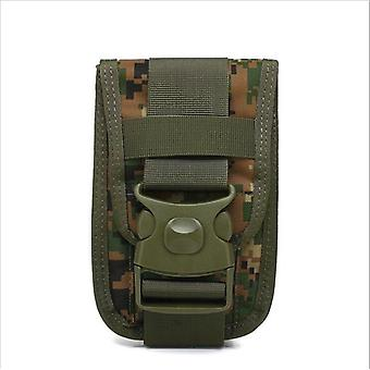 Tactical Waist Pack-shockproof, Double Hook And Loop Fastening Mole Pouch