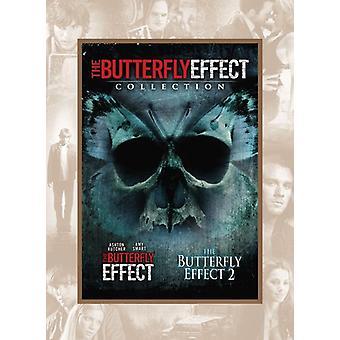 Butterfly Effect/Butterfly Effect 2 [DVD] USA import