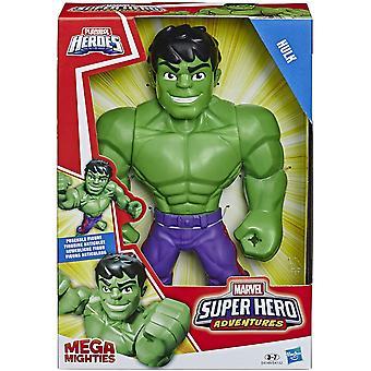 Super Hero Adventures Mega Hulk 10Inch Action Figure Kids Toy