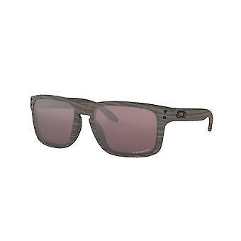 Oakley Holbrook OO9102 B7 Woodgrain/Polarised Prizm Daily Sunglasses