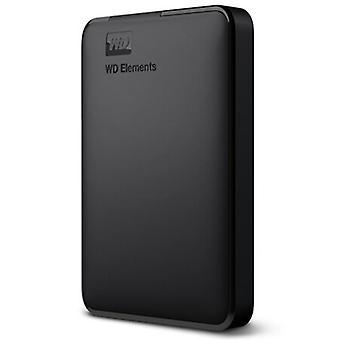 Digitale Wd Elements Festplatte Hdd, tragbare externe Festplatte