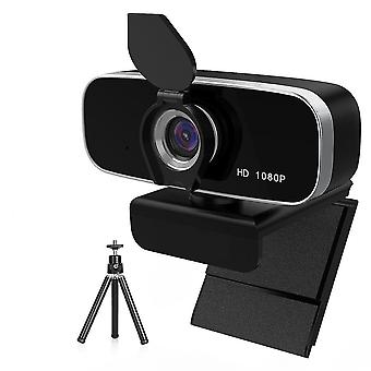 Hd 1080p Webcam cu microfon Auto Focus Video Record Webcamera pentru PC