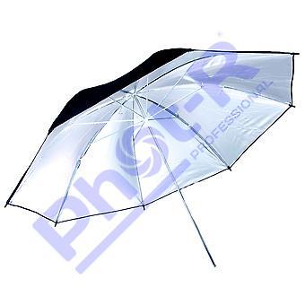 "Phot-r 43""/109cm black & silver studio umbrella reflective diffuser for professional portrait phot"
