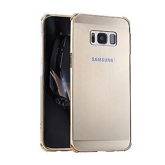 Iskunkestävä seos ja hiilikuitukotelo Samsung Galaxy A5 2017 : lle - Kulta