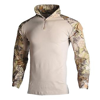 Military Army Long Sleeve Camouflage Tactical Shirt Hunt Combat Multicam