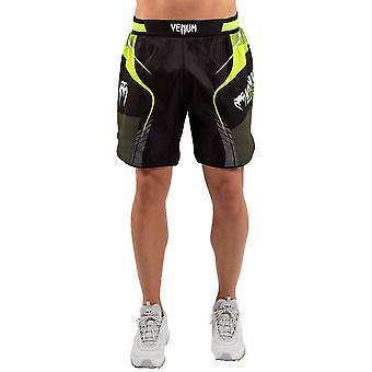 Venum Trainingslager 3.0 Fight Shorts Schwarz/Neo Gelb