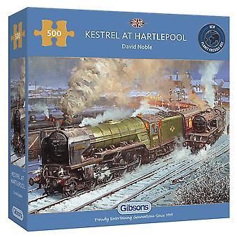 Gibsons 500 Piece Kestral To Hartlepool Jigsaw Puzzle