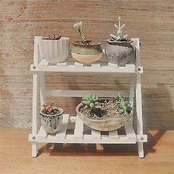 Bamboowooden Plant Flower Floor Stand Shelves/rack, Plant Flower Display Stand,