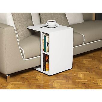 Salontafel Caffe'Ceylin White Color in Melamine Spaanplaat, PVC, L45xP35xA57 cm