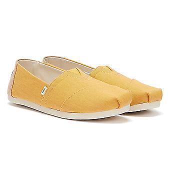 TOMS Alpargata Eco Väriaine Naisten Kultainen Keltainen Espadrilles