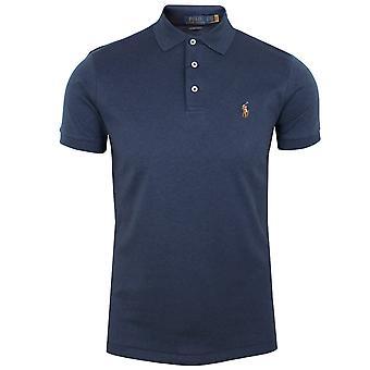 Ralph lauren men's spring navy pima polo shirt