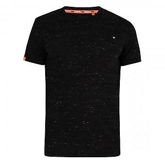 Superdry OL Vintage Borduurwerk SS T-Shirt Black Space VX7