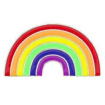 Enamel pin, 3.5 cm - Rainbow
