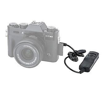 Jjc câble de dégagement câble de libération pour fujifilm x-t3/ x-t2/ x-t1/ x-h1/ x-t30/ x-t20/ x-t100/ wof41609