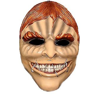 Payday The Heist Mask Blonde Clown Helmet Cosplay Props Halloween Masquerade Mask Party