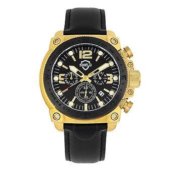 Shield Tesei Quartz Black Dial Men's Watch SLDSH105-5