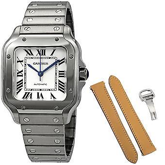 Cartier Santos De Cartier Medium Automatic Men's Watch WSSA0010