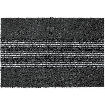 MOCAVI Steg 340 Design dörrmatta kantlös antracit 50 x 70 cm rengående mattränder