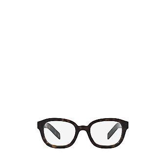 Prada PR 11WV dunkle havanna männliche Brille