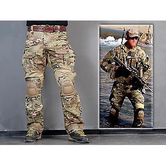 Gerui Emerson Gen3 Combat Pants Airsoft Tactical bdu Trousers with Knee Pad Multicam MC