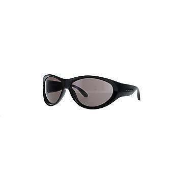 Balenciaga BB0158S 001 Black/Grey Sunglasses