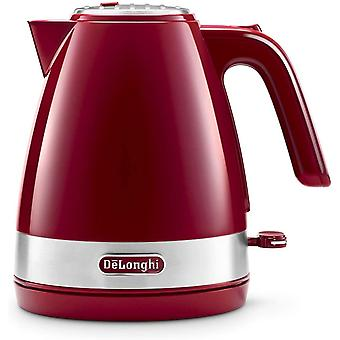 DZK Active Line Kettle, anti-scale filter, 1.7 Liters, 360 swivel base, KBLA3001.R, Red