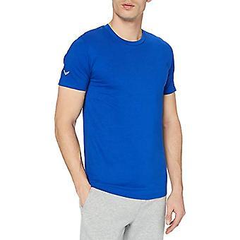 Trigema 639202 T-Shirt, Blue (Royal C2C), L Men's