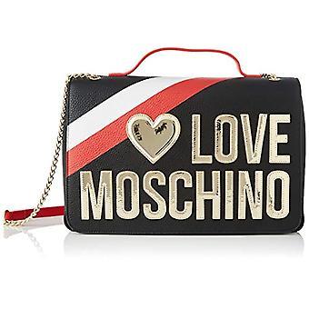 Love Moschino Jc4285pp0a, Women's Crossbody Bag, Black, 12x23x33 cm (W x H x L)