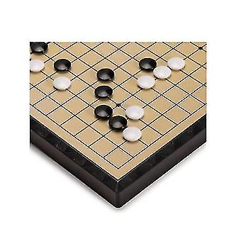 Large Magnetic Go Game Board With A Single Convex Stone Portable