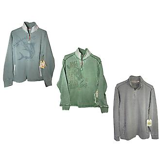 Margaritaville Mens 'Porto 1/4 Zip' Pullover Shirt