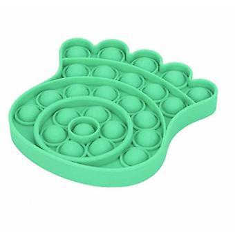 2Pcs blekksprut grønn push pop stressavlastning silikon fidget leketøy az6373
