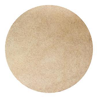 Для светло-желтой овчины Барабан Головка Козья кожа для 10-дюйма Африканского бубна WS2434