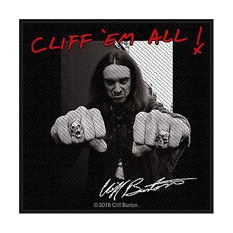 Metallica - Cliff 'Em All Standard Patch