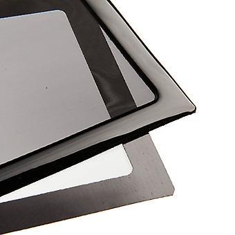 DEMCiflex Dustfilter Set for 360mm Radiator - Black/Black