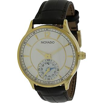 Movado Circa Motion Leather  Smartwatch  Mens Watch 0660008