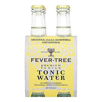 Forfriskende Drik Fever-træ Tonic Vand indiske (4 x 20 cl)