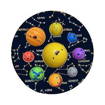 17cm Fidjet Toy Mini Eenvoudige kuiltje sensorische Fidget Speelgoed Simulatie Planet Kawaii Kleur Simpl Dimmer
