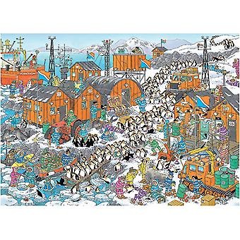 Jan Van Haasteren South Pole Expedition Jigsaw Puzzle (1000 Pieces)