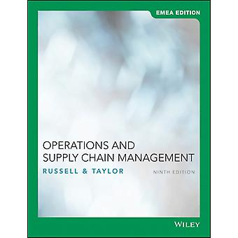Operations and Supply Chain Management by Roberta S. RussellBernard W. Taylor