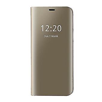 Samsung Galaxy S7 Edge Clear View FolioKotelo - Kulta