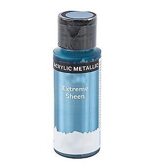 59ml extreme kiilto metallinen akryyli maali aikuisille käsityöt - sininen harmaa