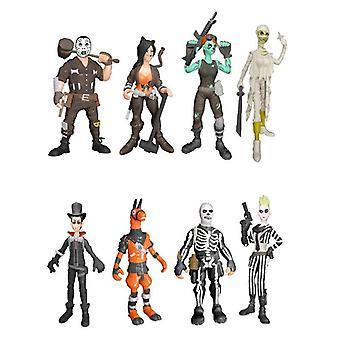 8pcs Fortnite Skull Trooper Action Figure gift