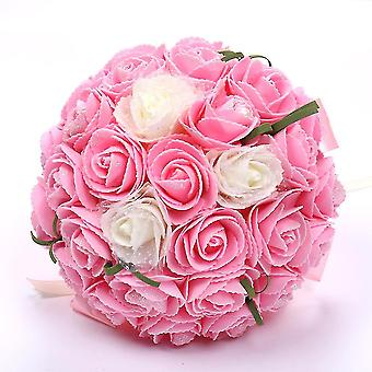 Bridal Bouquet Mariage Silk Artificial Flowers Roses