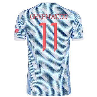 Manchester Unitedin miesten paidan away kit 2021/22